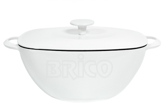 Cast Iron Oval Casserole SRB28