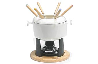 cast iron fondue set instructions