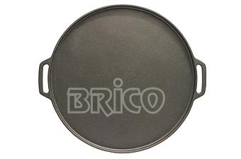 Cast Iron Round Griddle Plate