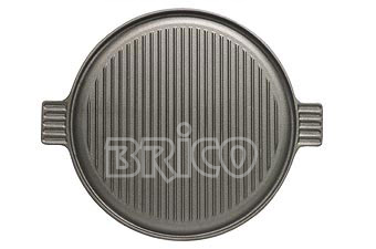 Reversible Cast Iron Griddle Plate N35R