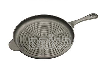 Round Cast Iron Grill Pan