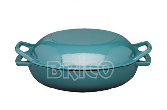 Cast Iron Buffet Casserole with Grill Cover